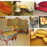 Senoviniai ir antikvariniai minkšti baldai